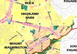 zoning, Highland Park, HLP